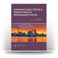 Canadian Family Office & Private Wealth Management Forum