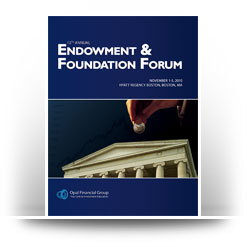 Endowment & Foundation Forum