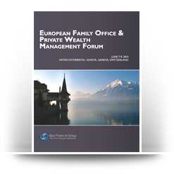European Family Office & Private Wealth Management Forum