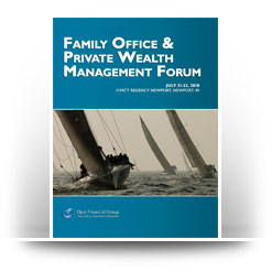 Opal Financial Group's Family Office/Private Wealth Management Forum