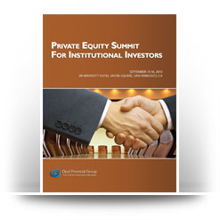 Private Equity Summit for Institutional Investors