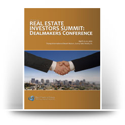 Opal Financial's Real Estate Investors Summit: Dealmakers Conference